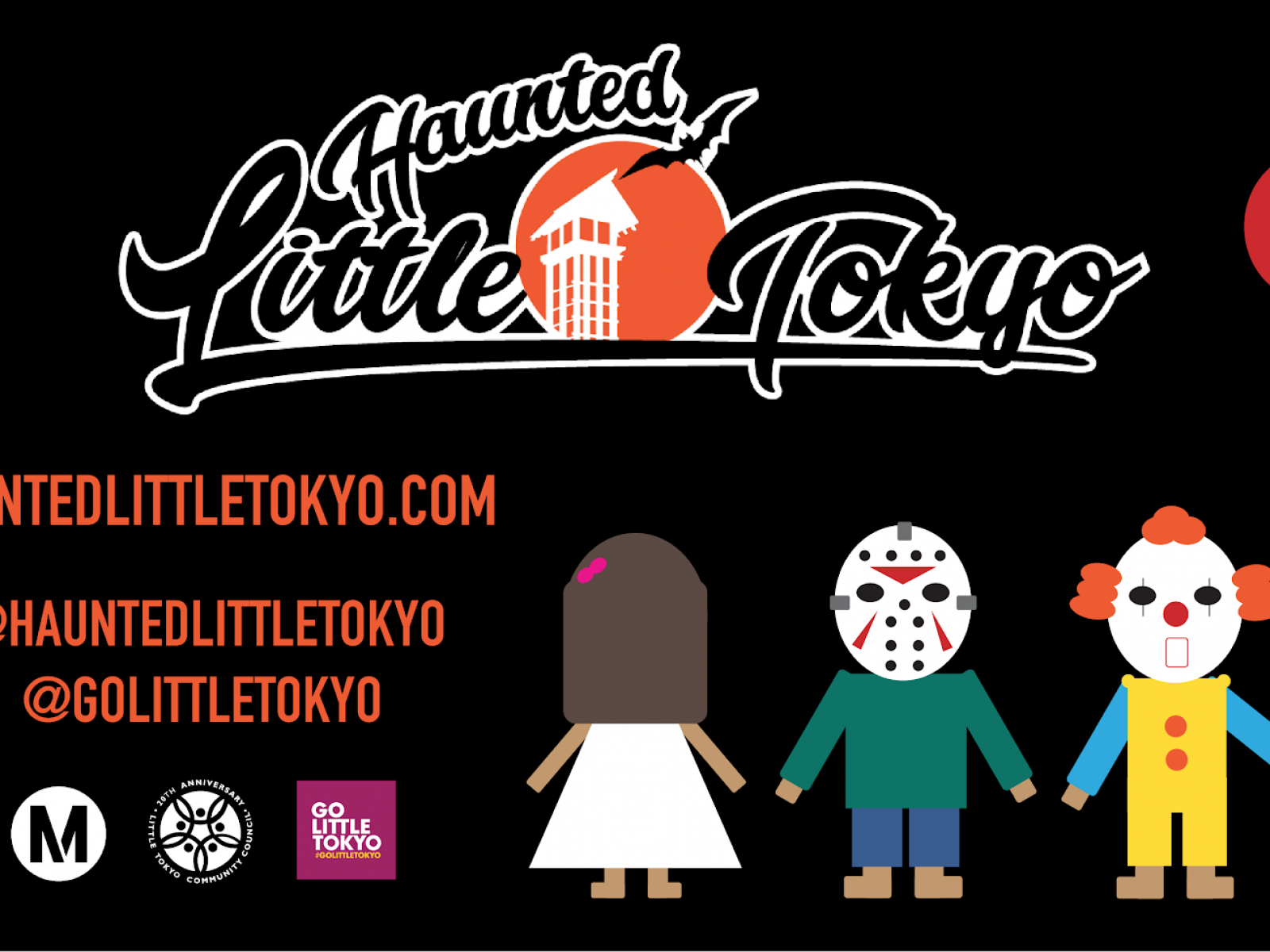 Main image for event titled 4th Annual Haunted Little Tokyo (OPENING DAY)