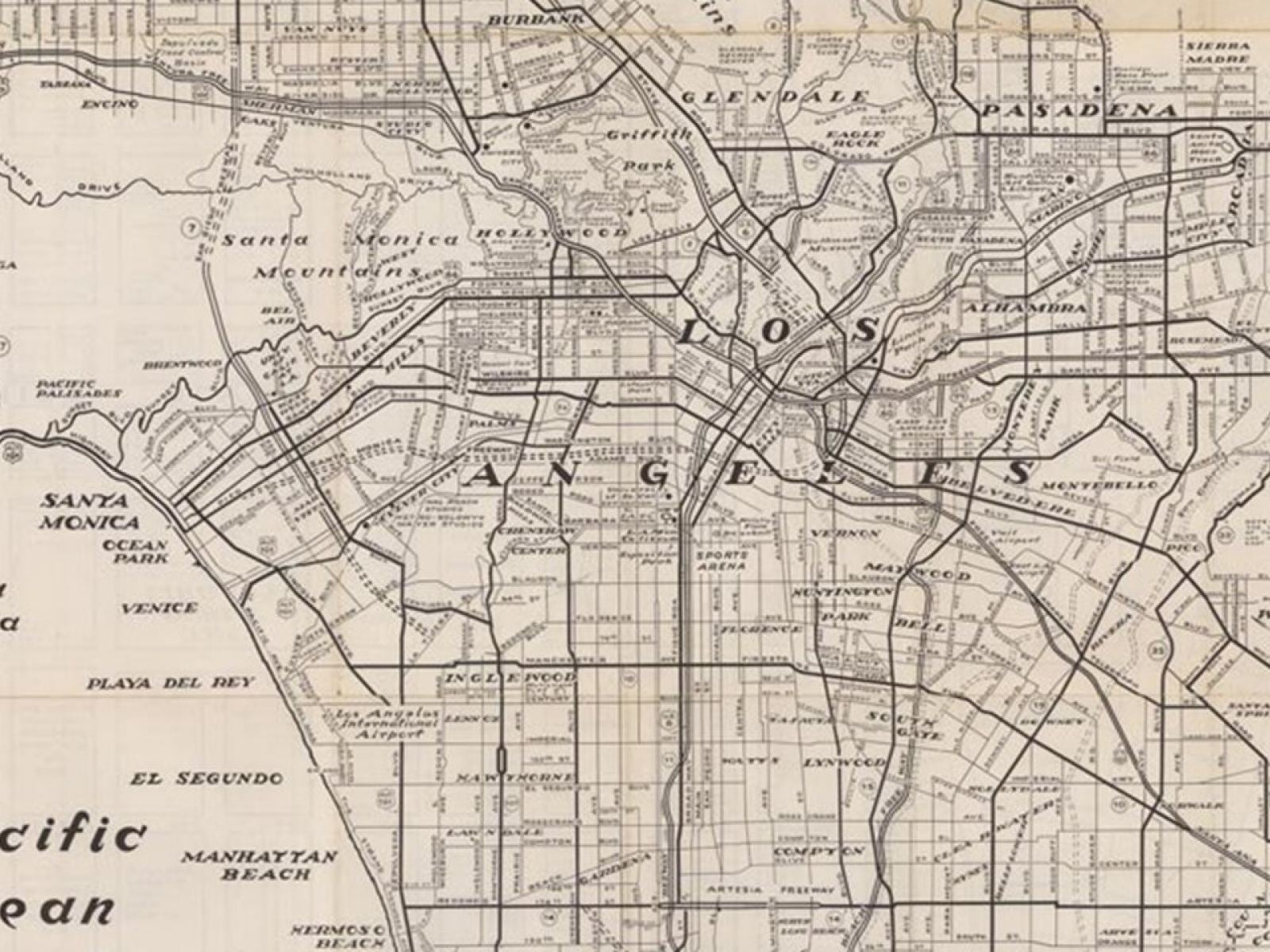 Main image for event titled CRAFTING CARTOGRAPHIES – MAPPING LA: by UCLA's Fowler
