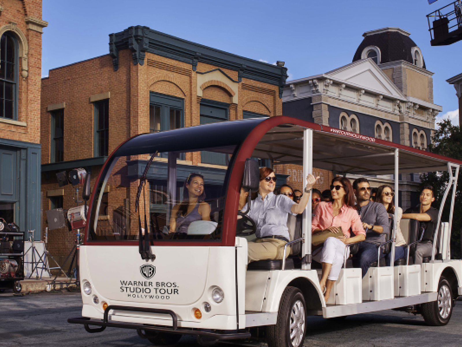 Main image for article titled Go Behind the Scenes On the Warner Bros. Studio Tour Hollywood