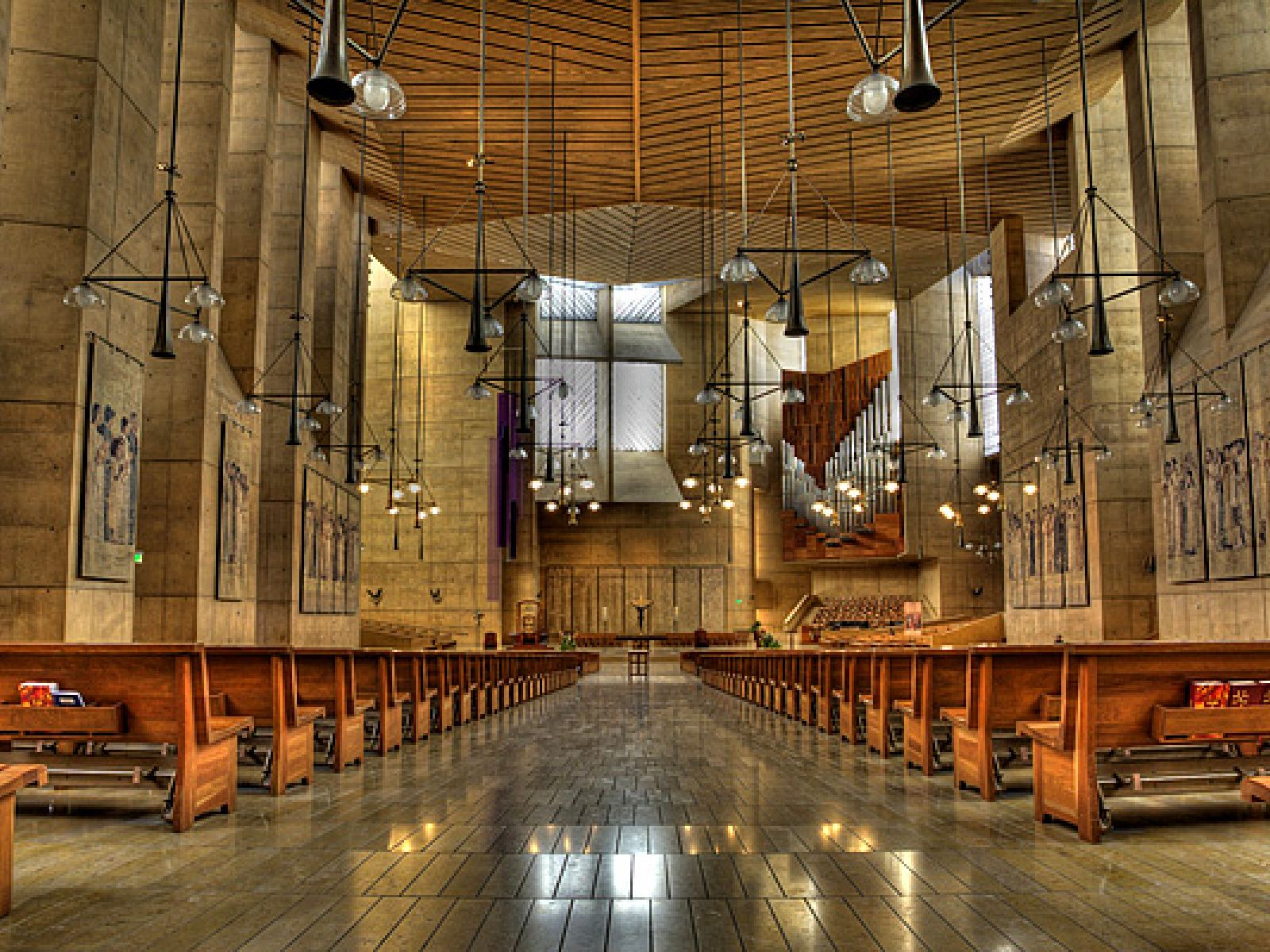 Main image for article titled Cathedral of Our Lady of the Angels