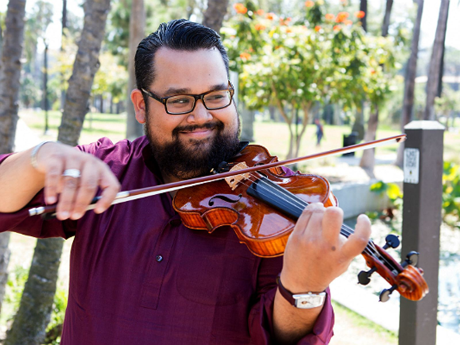 Vijay Gupta Building Community With Music Discover Los