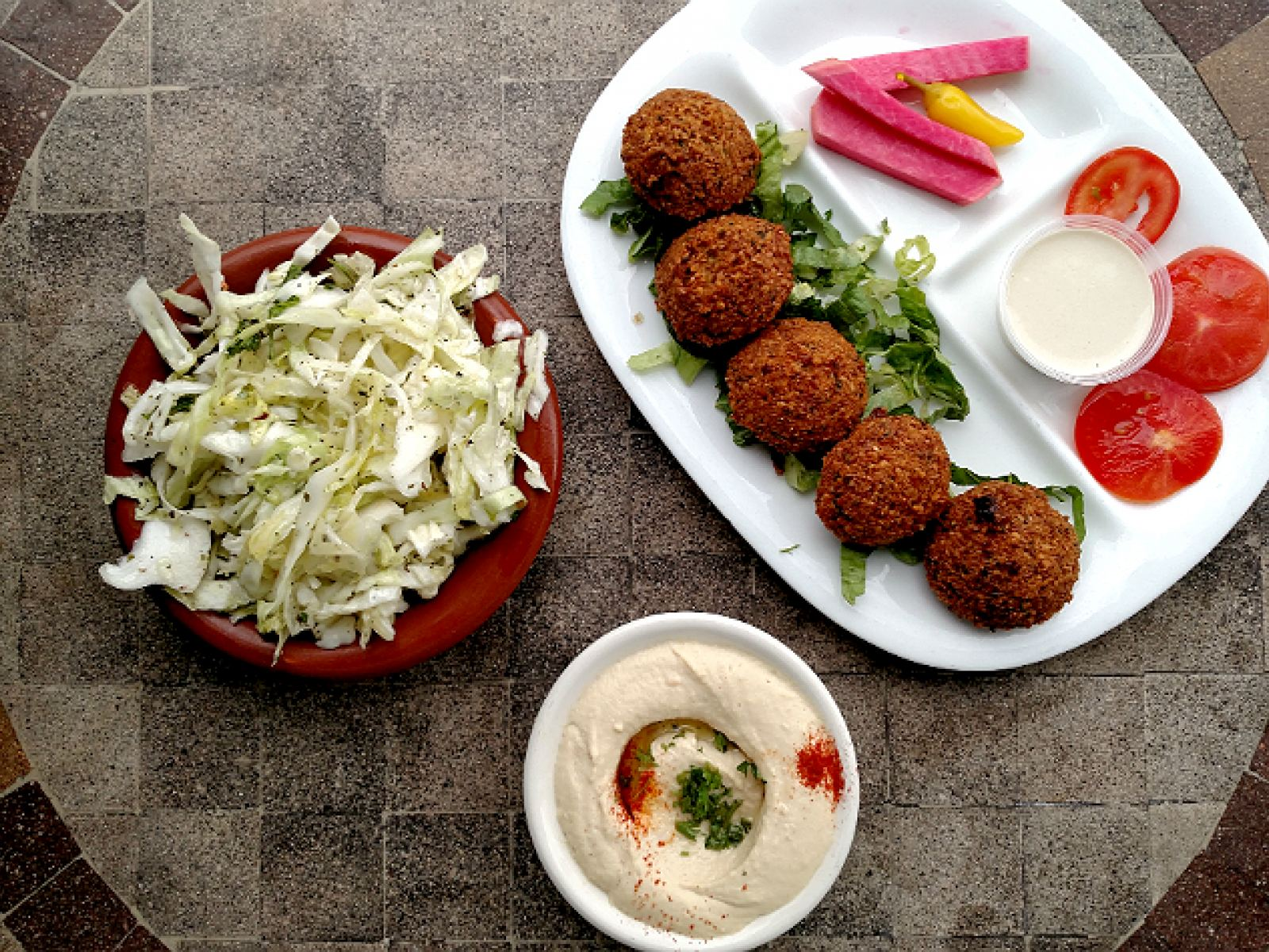 Main image for guide titled The Best Falafel in Los Angeles