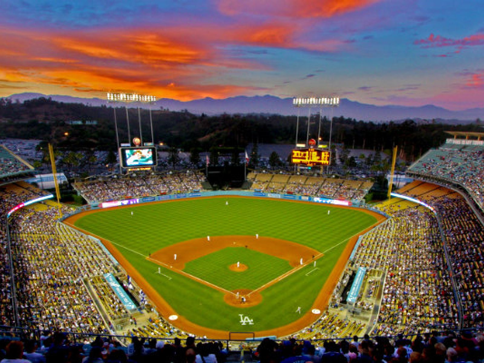 Main image for article titled The Greatest Non-Baseball Events in Dodger Stadium History