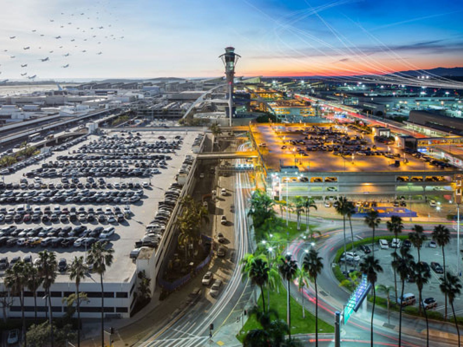 Main image for article titled Entdecken Sie Los Angeles International Airport (LAX)