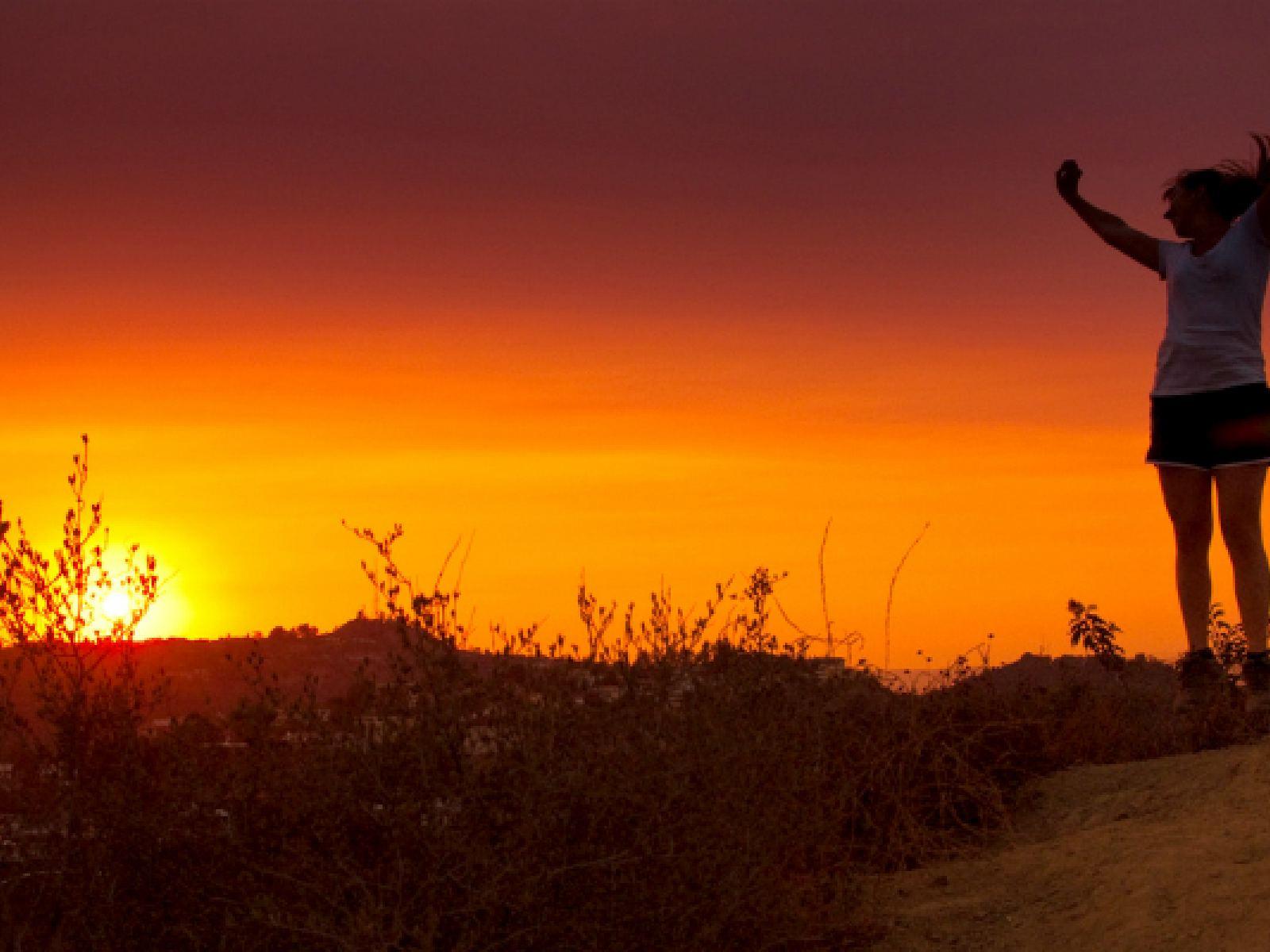 Main image for guide titled Profitez d'une première journée heureuse et saine à Los Angeles