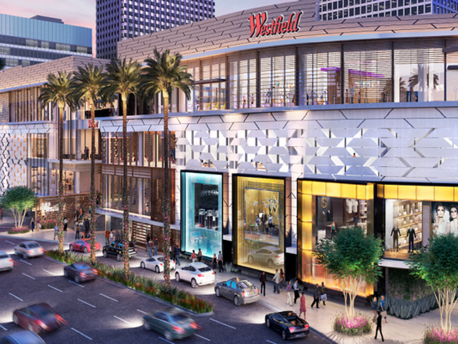 Main image for guide titled The Guide to Los Angeles Shopping Malls