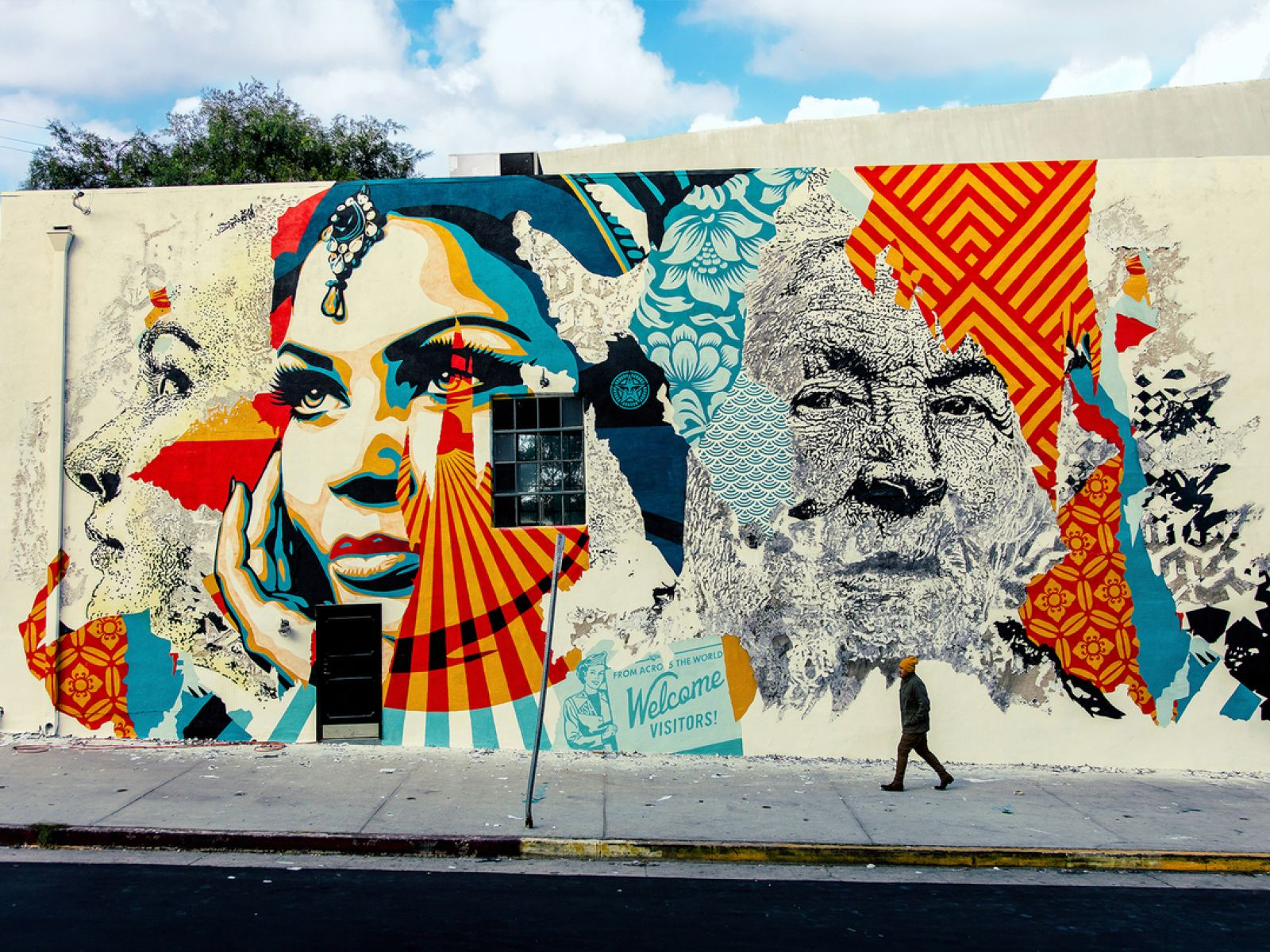Vhils shepard fairey 2018 i photo jonathan furlong