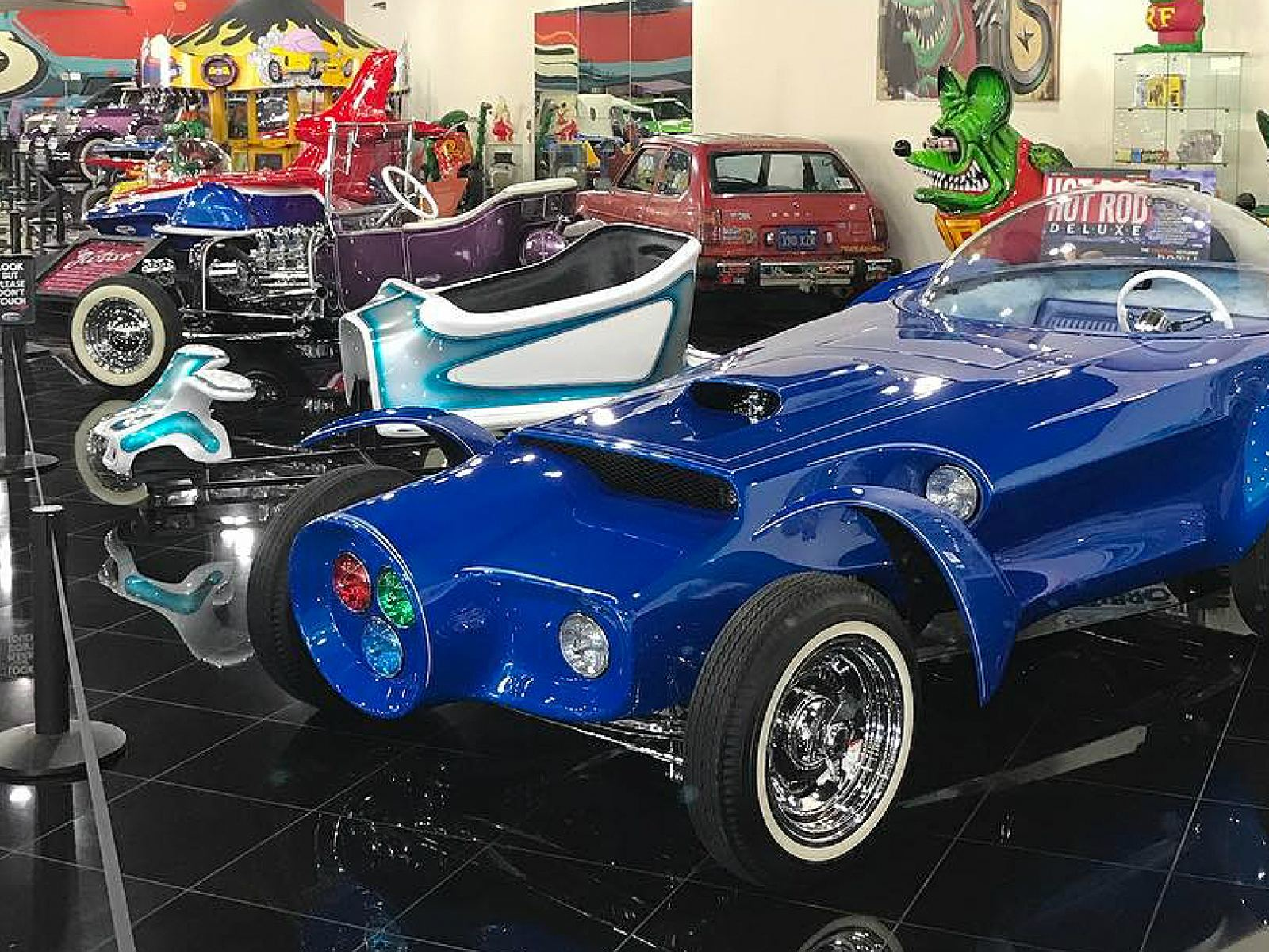 "Ed ""Big Daddy"" Roth's Orbitron at Galpin Auto Sports 