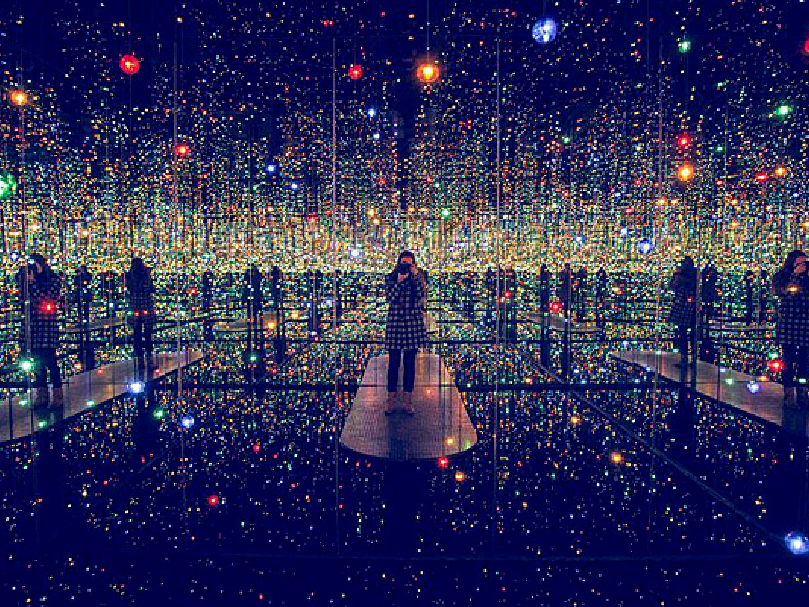 """Main image for article titled Yayoi Kusama : """"Infinity Mirrors"""" à The Broad"""