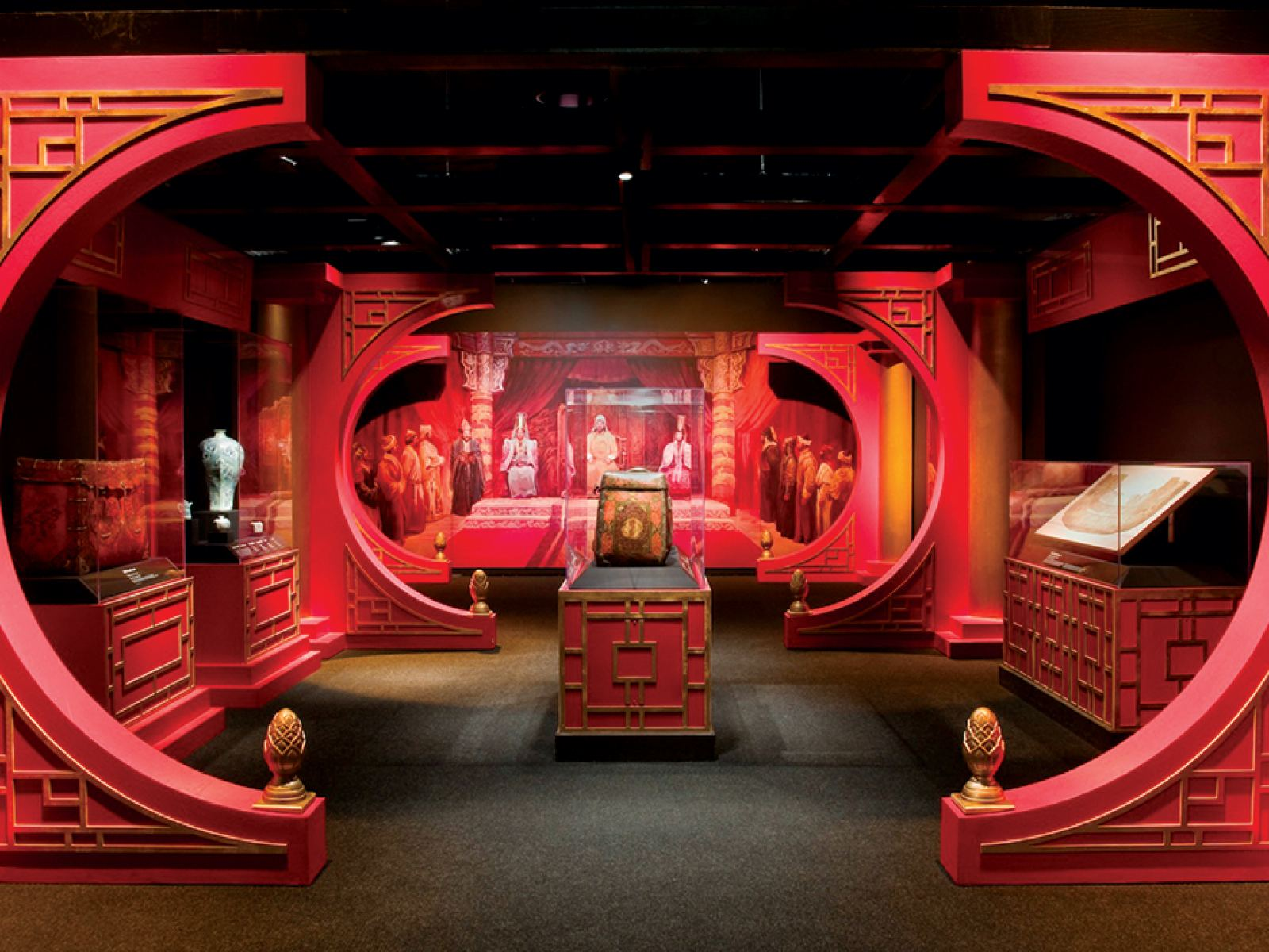 Main image for article titled Genghis Khan: The Exhibition at the Reagan Library