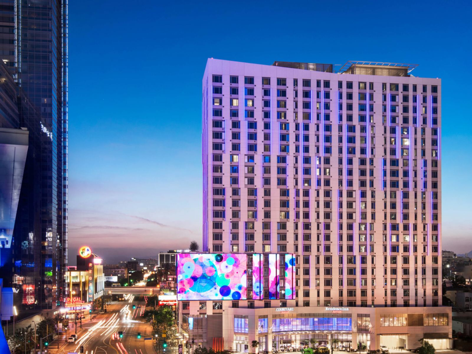 Main image for article titled Enjoy a Slam Dunk Stay at Residence Inn Los Angeles L.A. LIVE