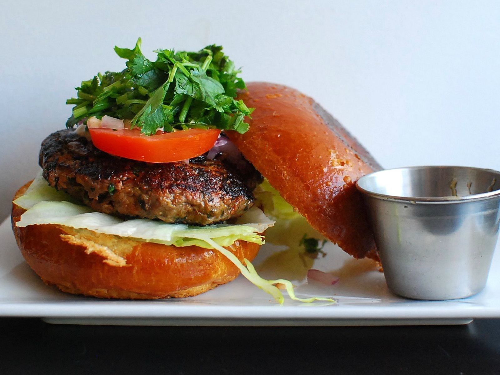 Main image for guide titled The Best Non-Beef Burgers in L.A.
