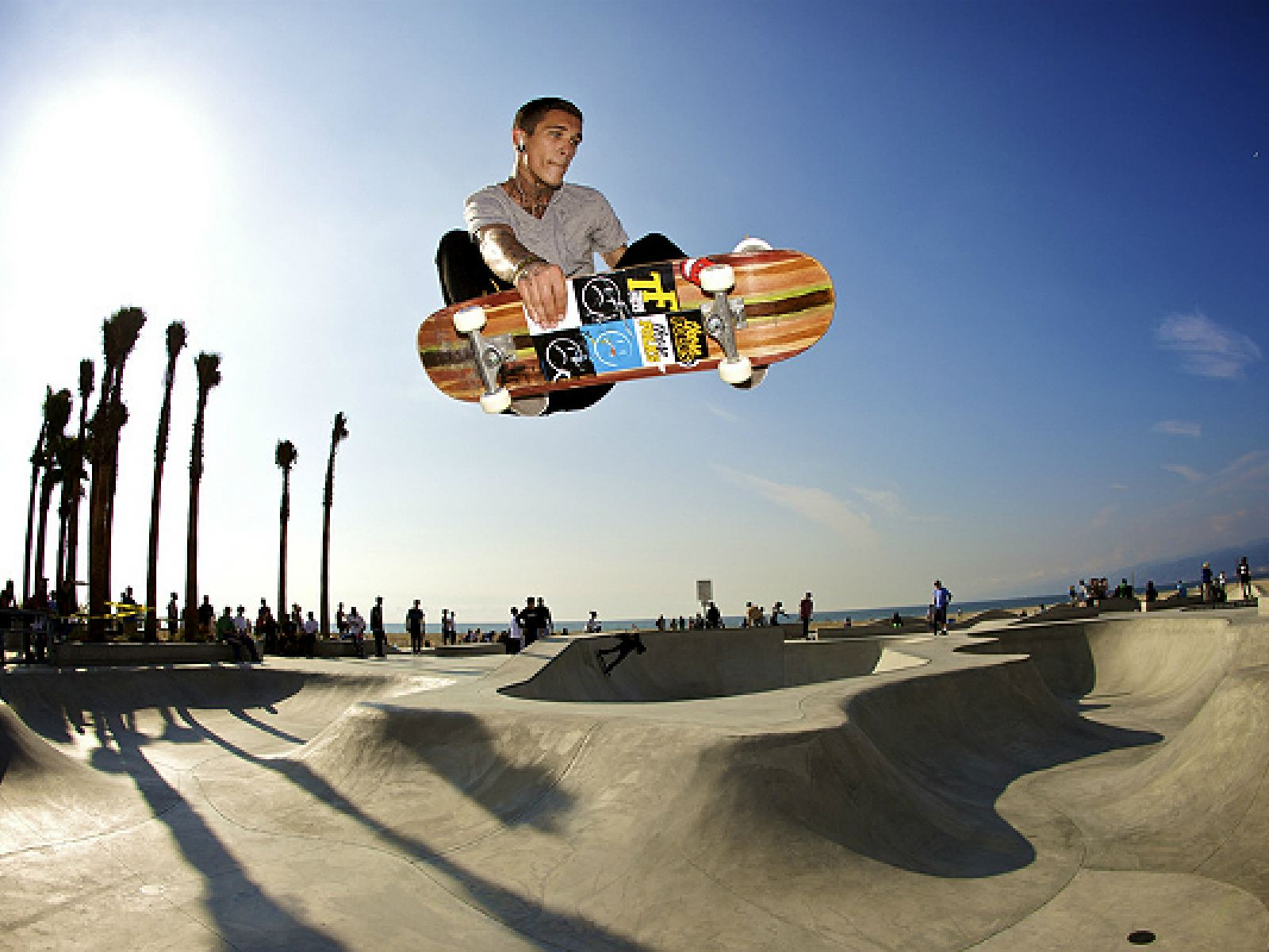 Main image for article titled Drop Into the Top Five Skateparks in Los Angeles