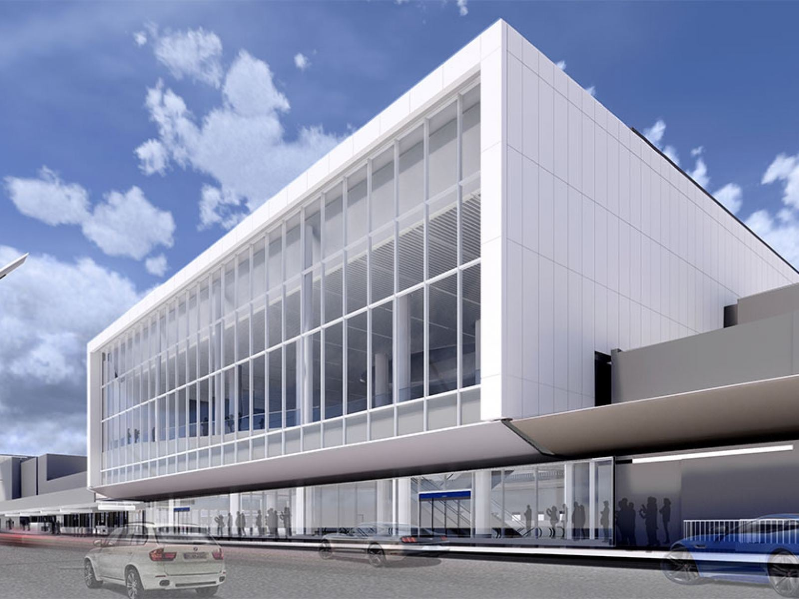 Main image for article titled American Airlines & LAWA Break Ground on $1.6 Billion Renovation of LAX Terminals 4 & 5