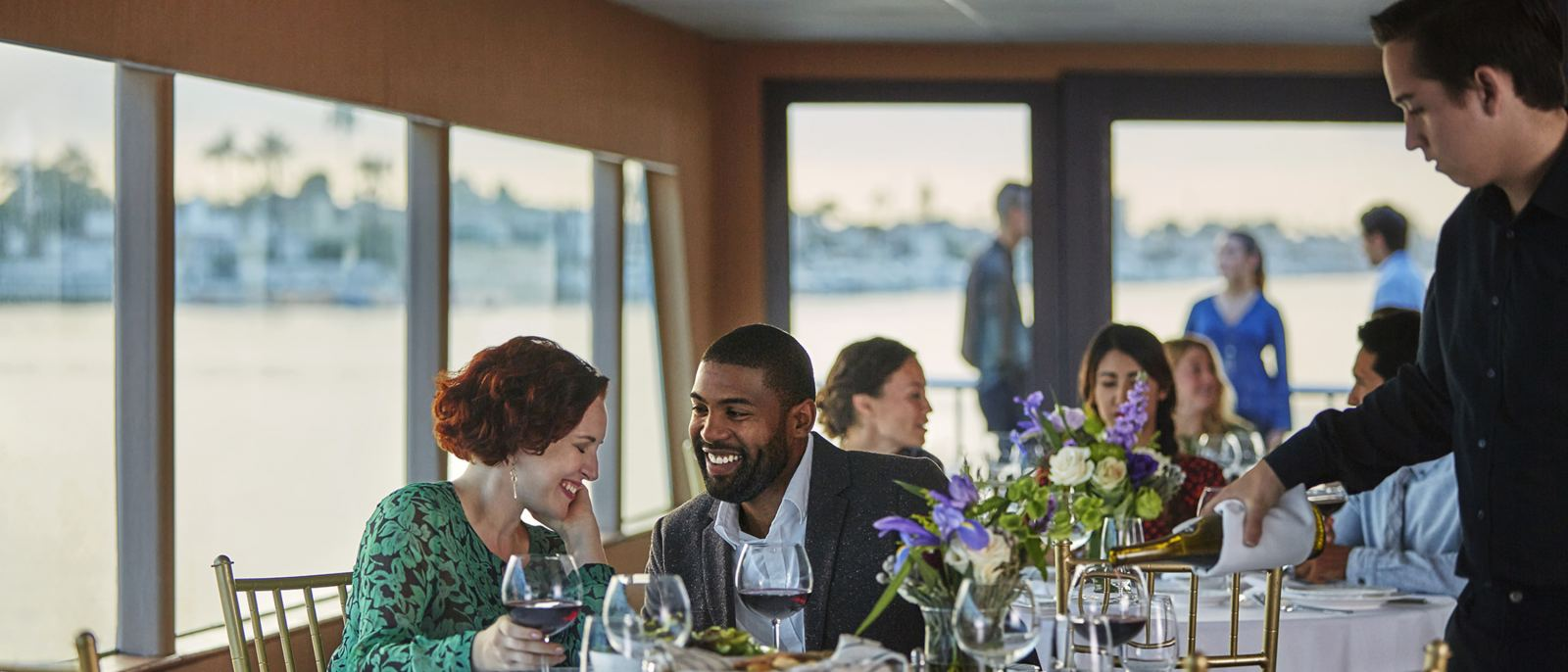 Hornblower Cruises and Events Couple Dining