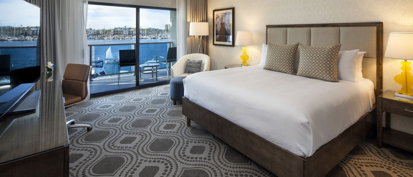 Marina View King Guest Room