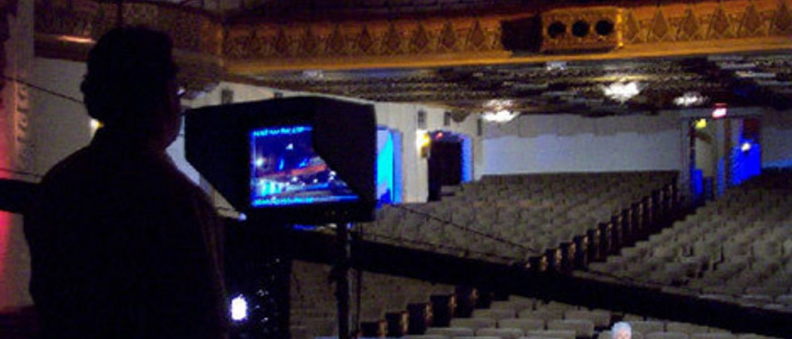 Warner Grand Theatre filming