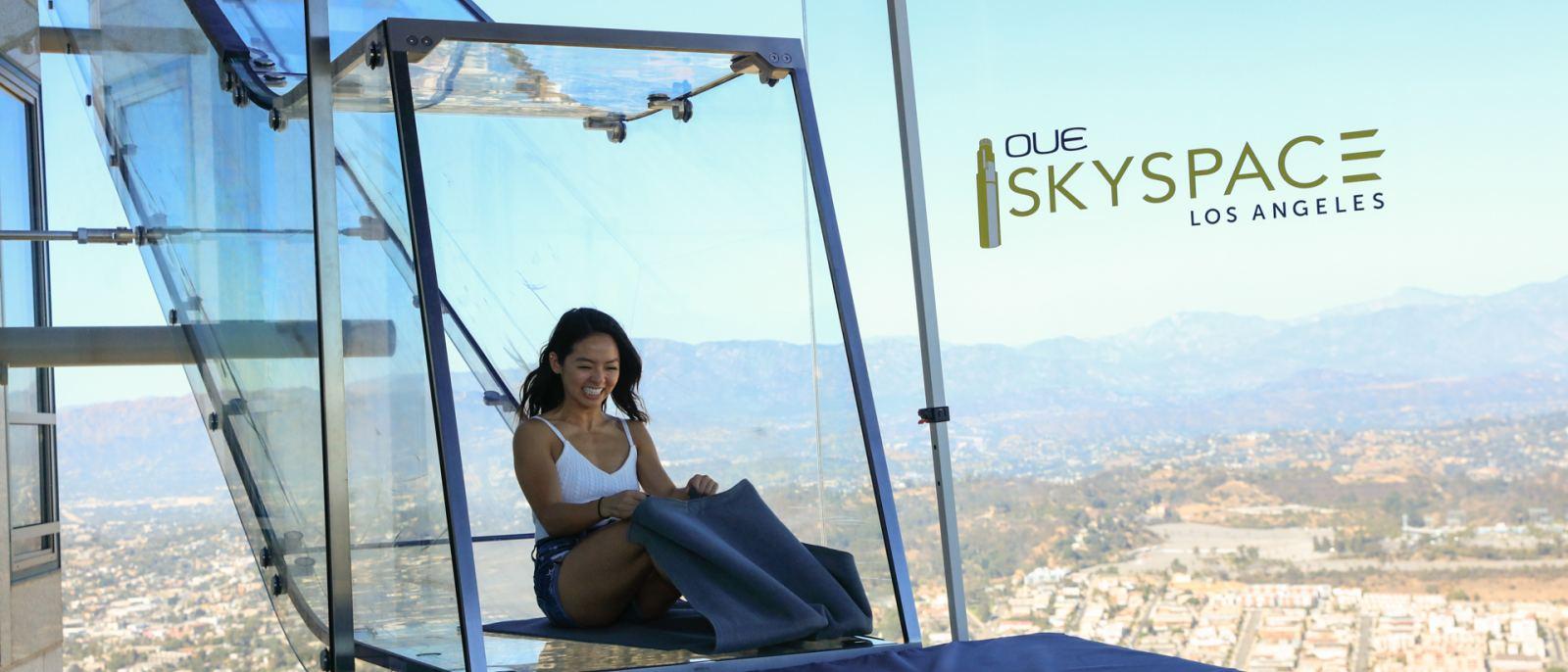 Skyslide at OUE Skyspace