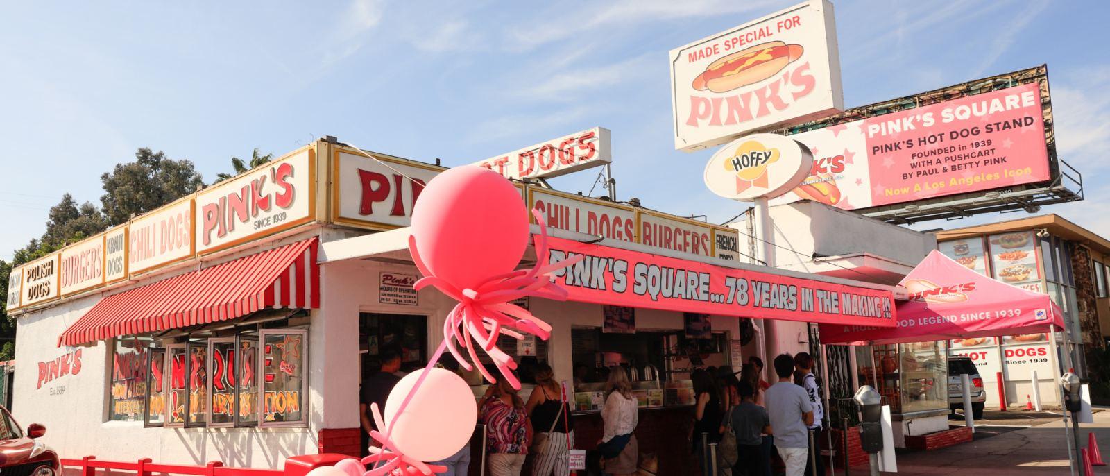 Pink's Hotdog
