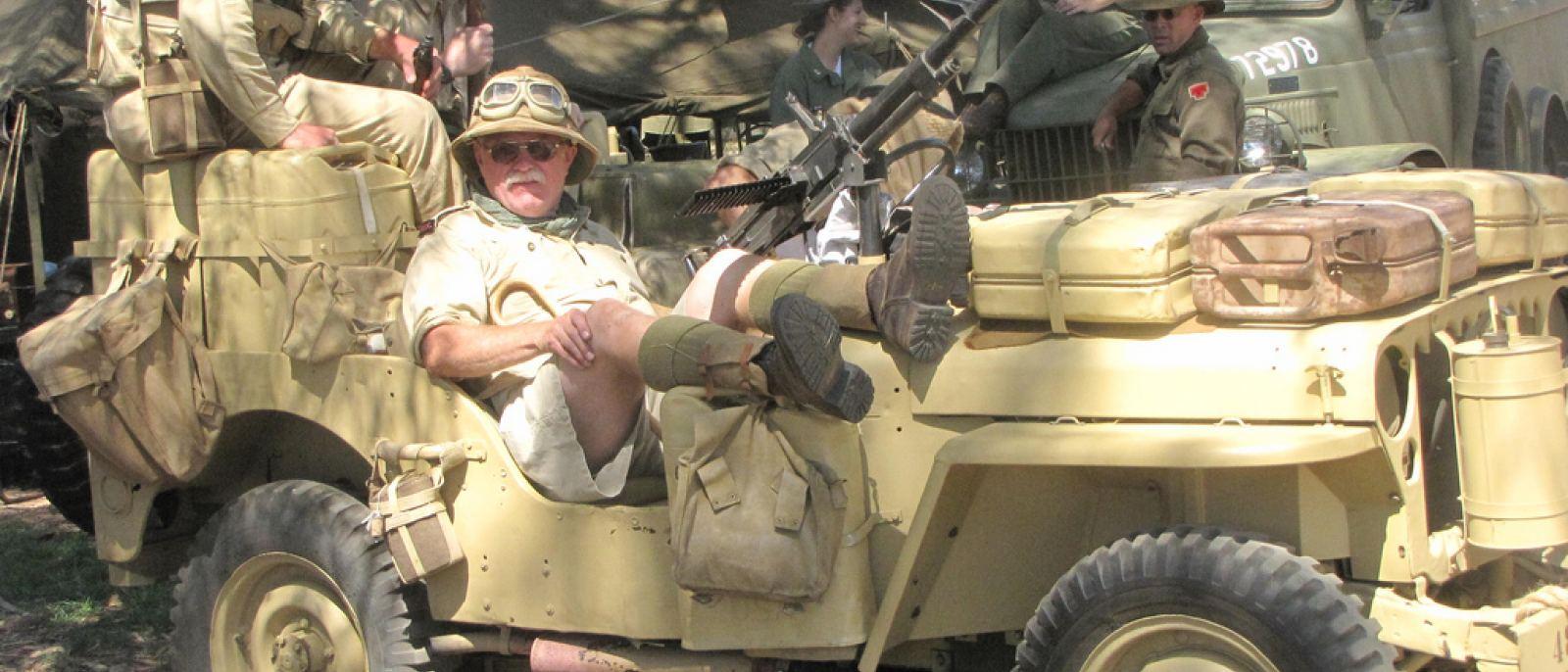 Fort MacArthur Museum WWII Reenactors