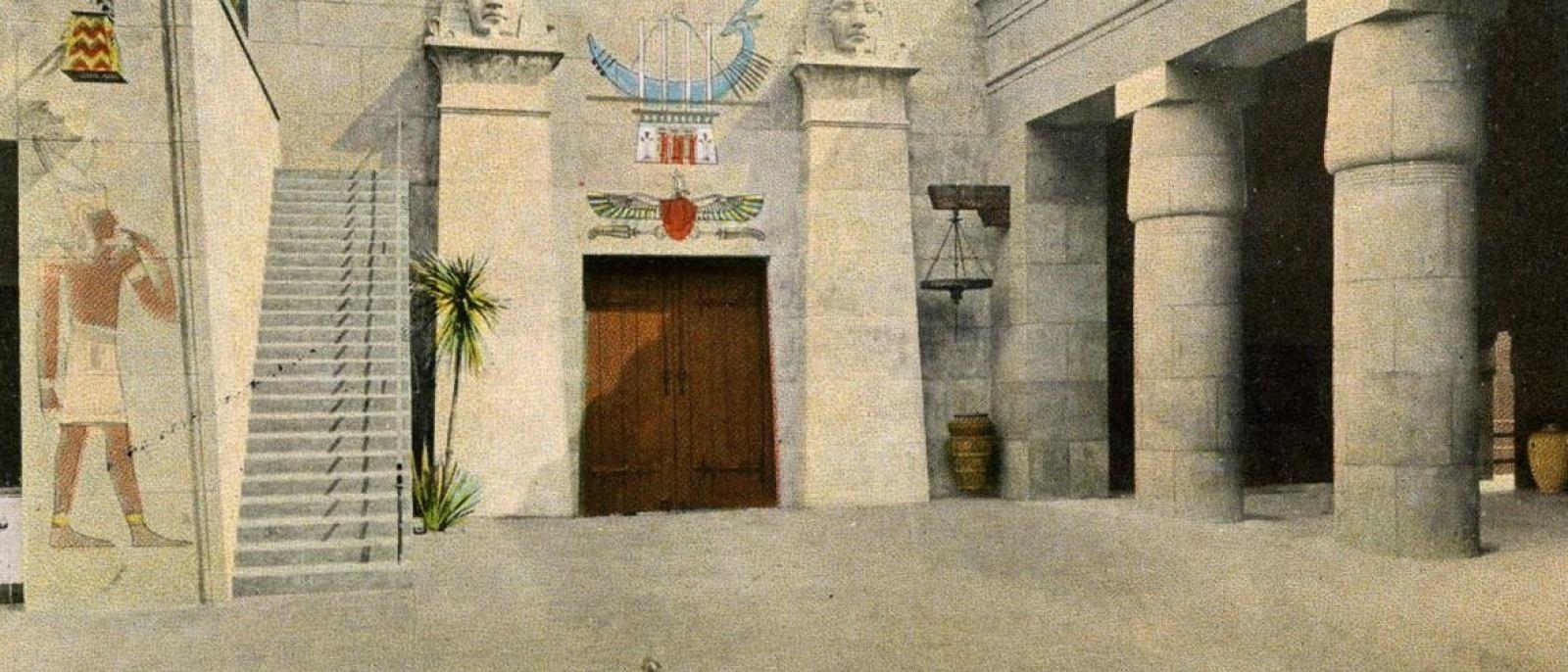 Vintage Postcard, Grauman's Egyptian Theatre