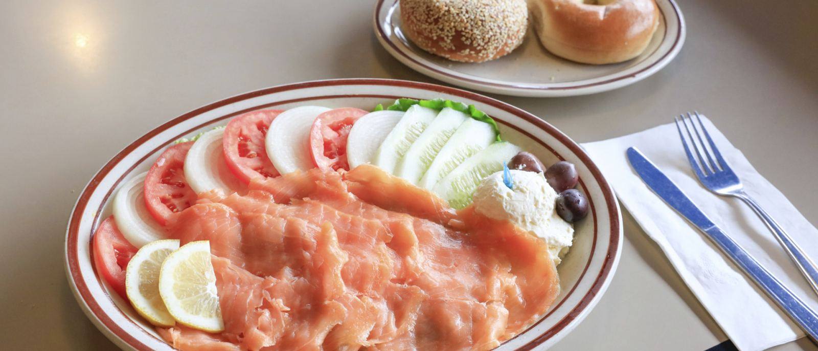 Lox Plate at Art's Deli