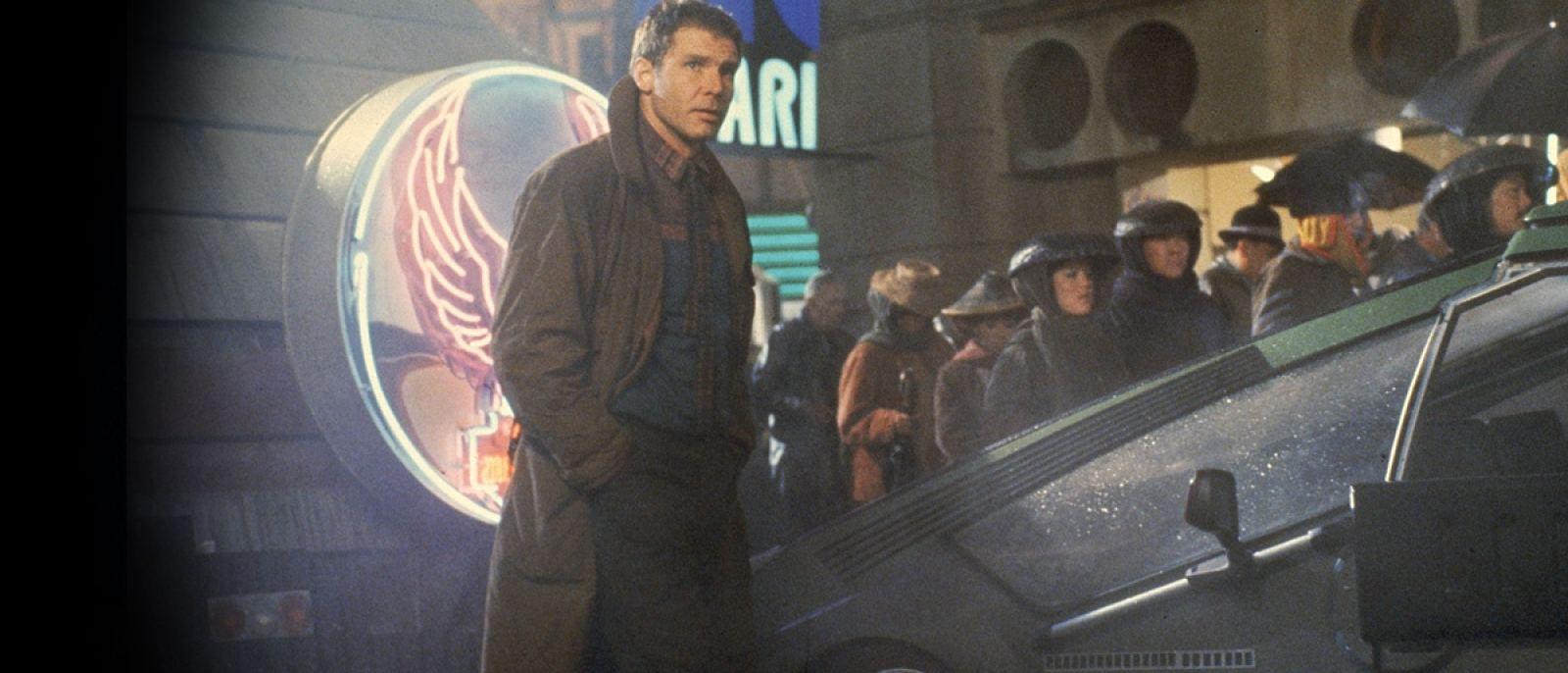 """The street scenes in """"Blade Runner"""" were filmed at Warner Bros. Studio   Photo: Warner Bros."""
