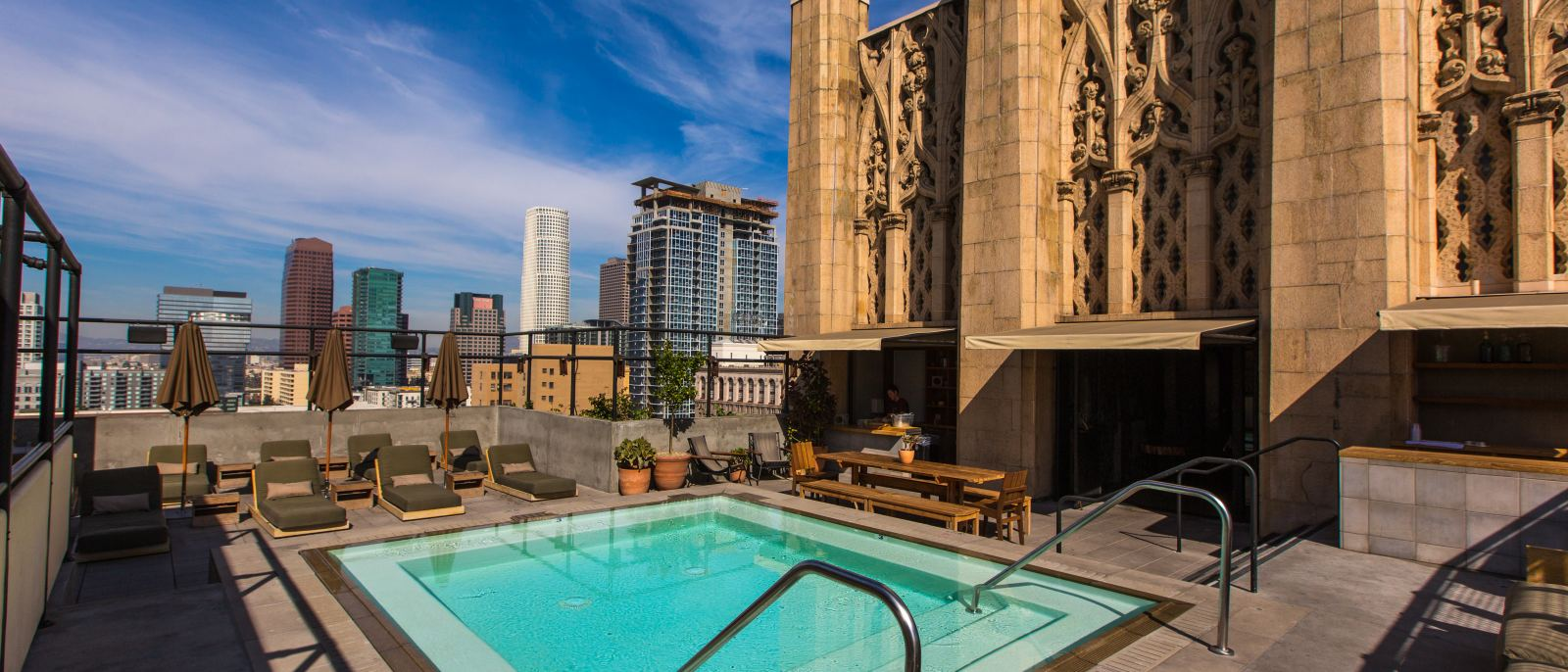 Ace Hotel Pool
