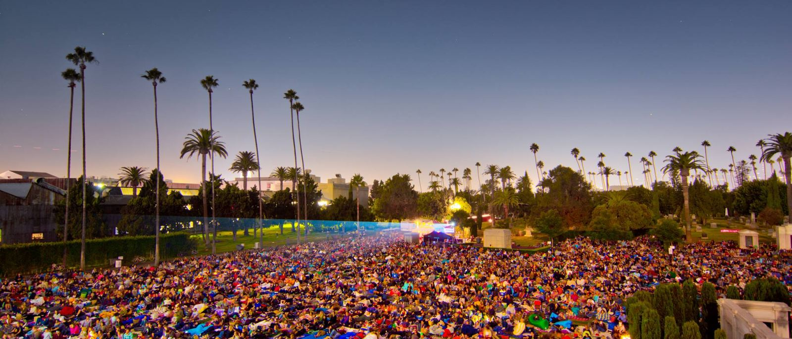 Cinespia at Hollywood Forever Cemetery