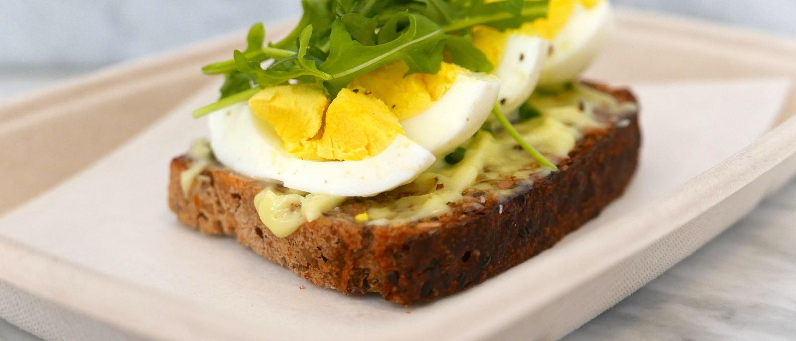 Clark Street Bread Egg Smorgas