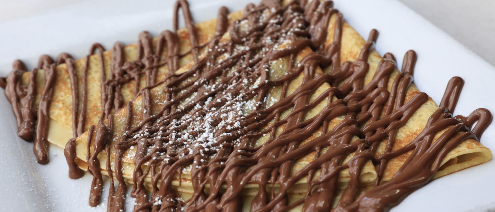 Nutella Crepe at Crave Cafe in Studio City