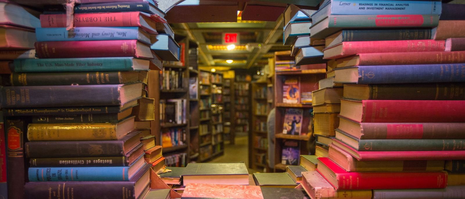 The Last Bookstore Book Tunnel