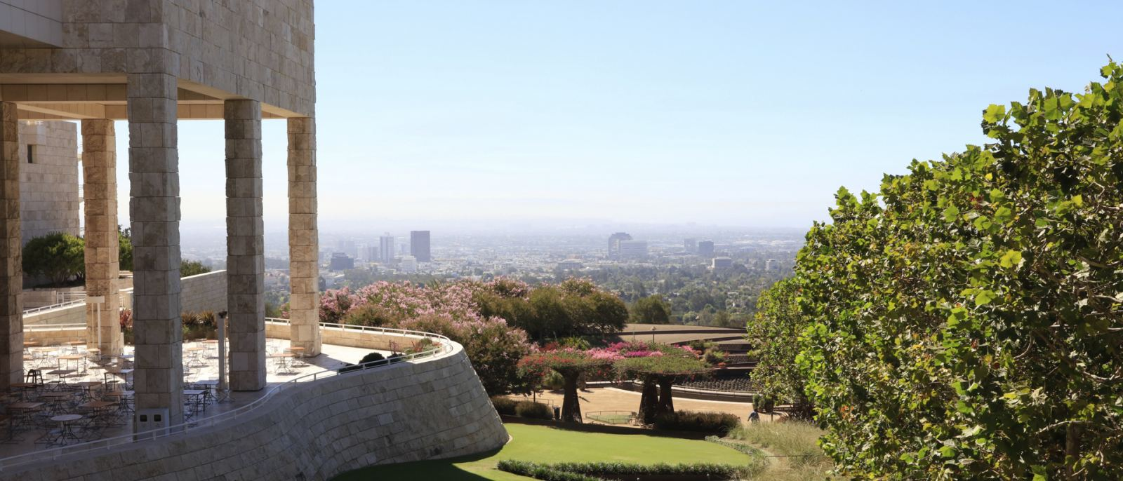 Getty Center and Garden   |  Photo: Yuri Hasegawa