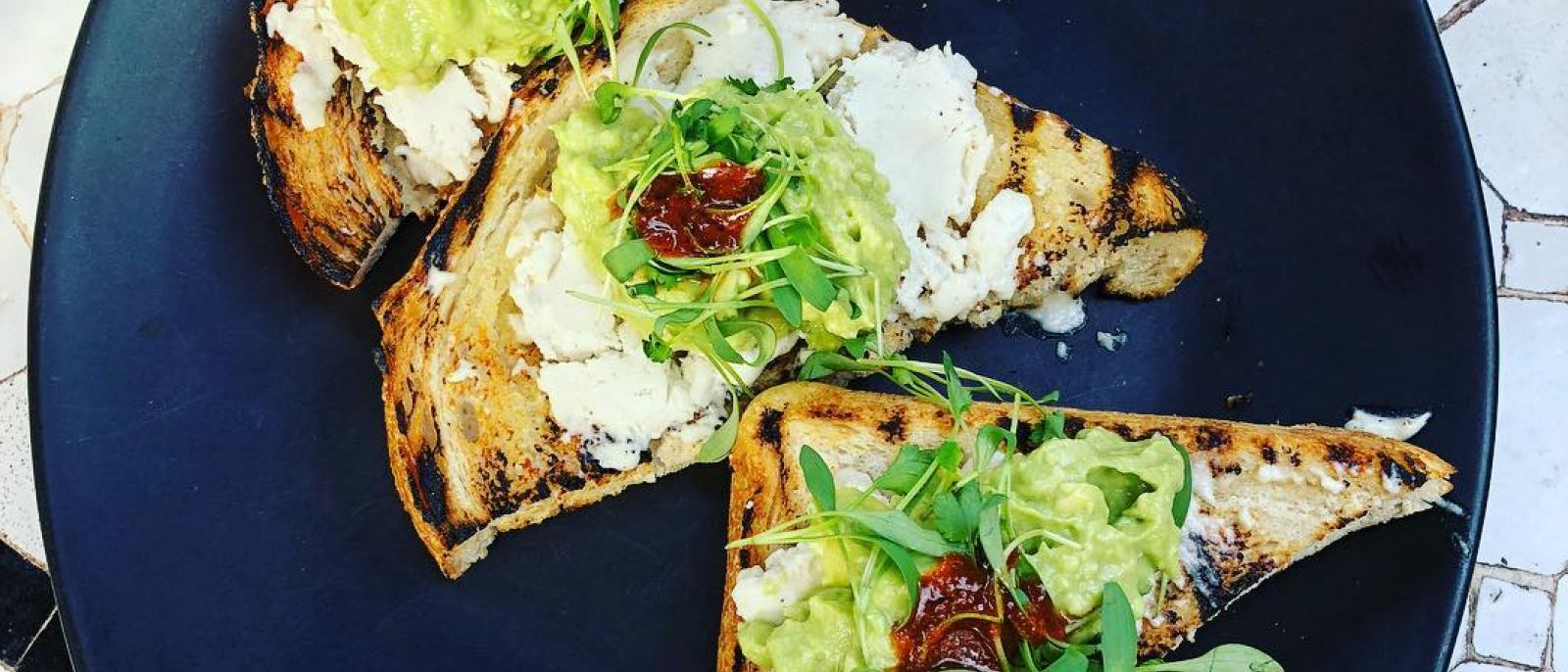 Avocado toast at Gracias Madre in West Hollywood | Photo: @vegandoctor, Instagram