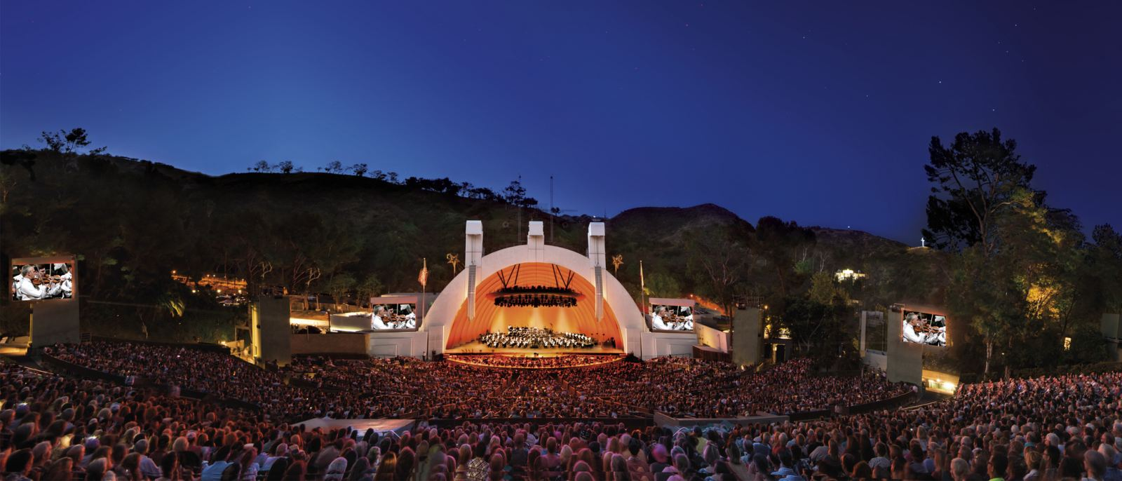 Hollywood Bowl at Twilight