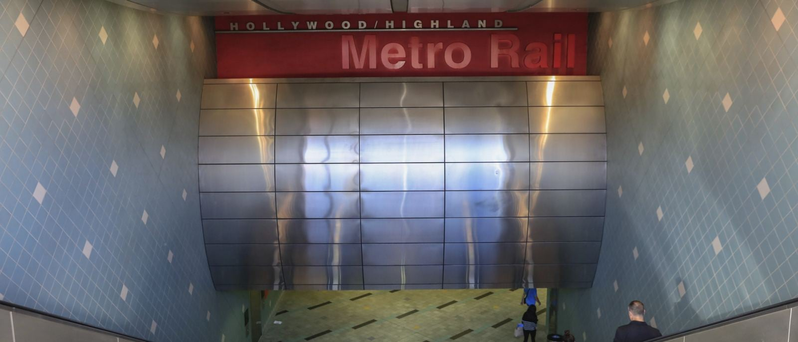 Metro Station at Hollywood and Highland