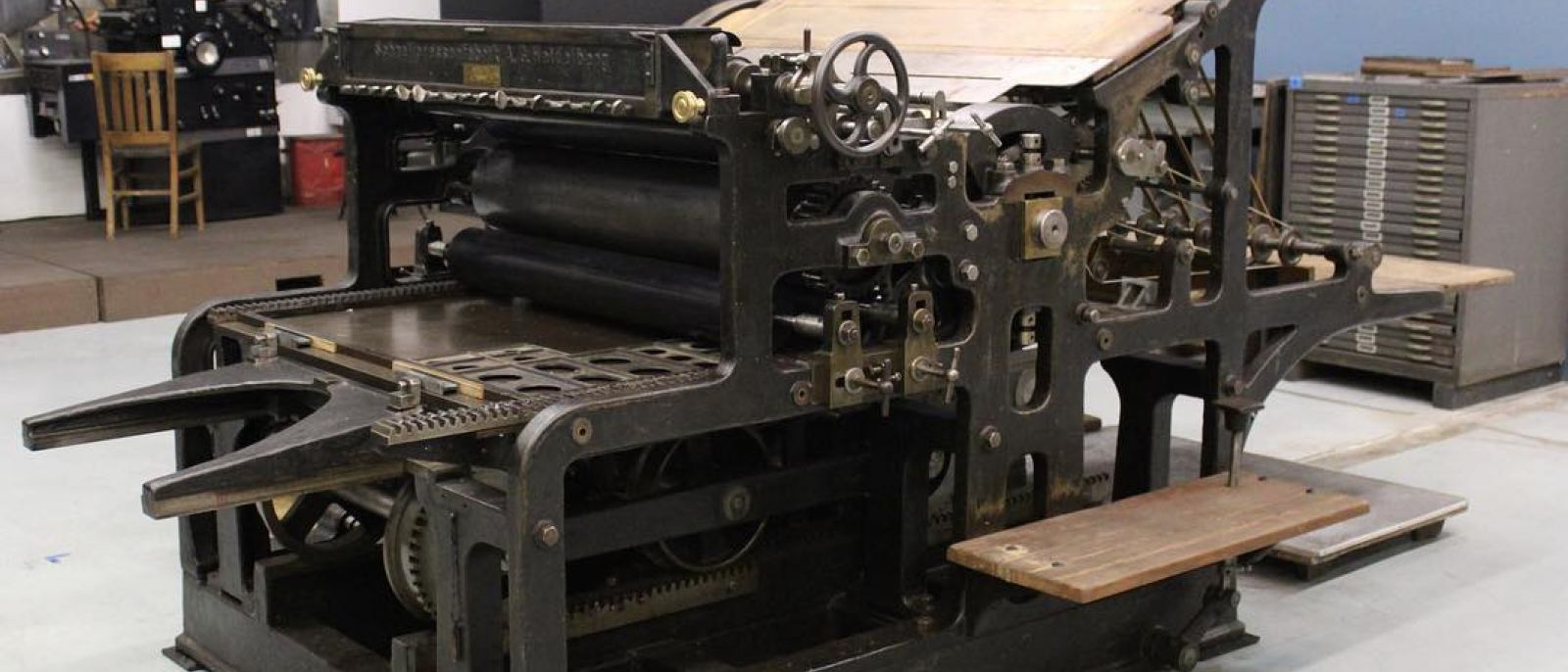 Heidelberg Press at the International Printing Museum