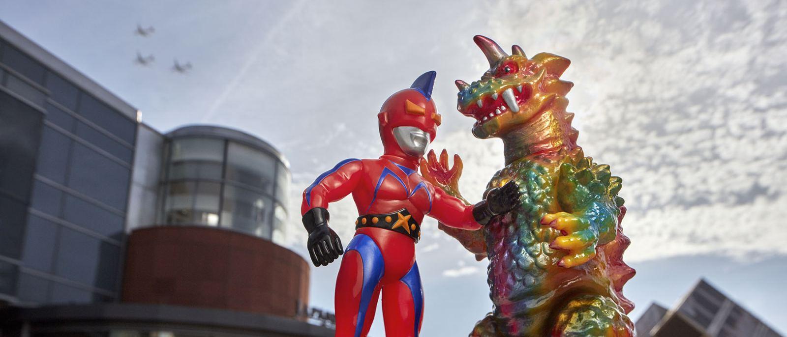 Kaiju vs Heroes JANM Japanese American National Museum