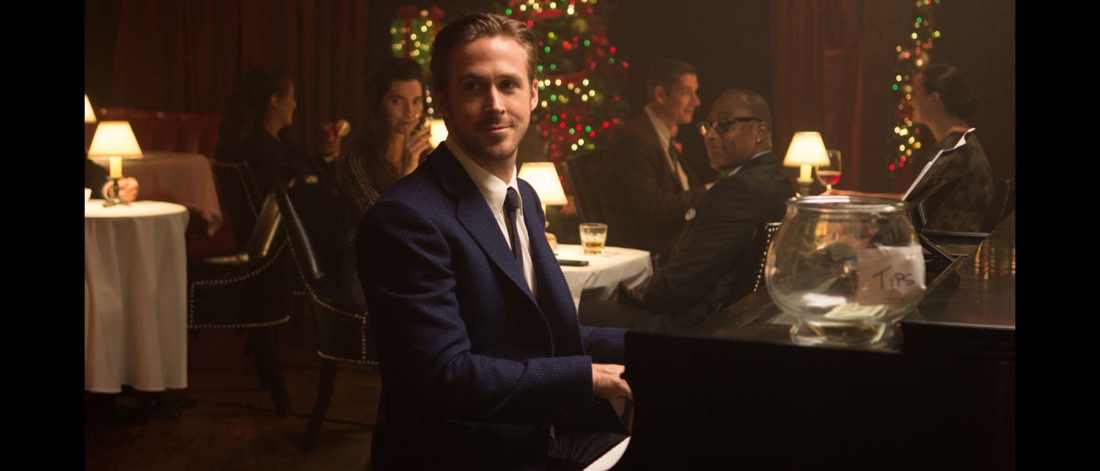 "Ryan Gosling at The Smoke House in ""La La Land"""