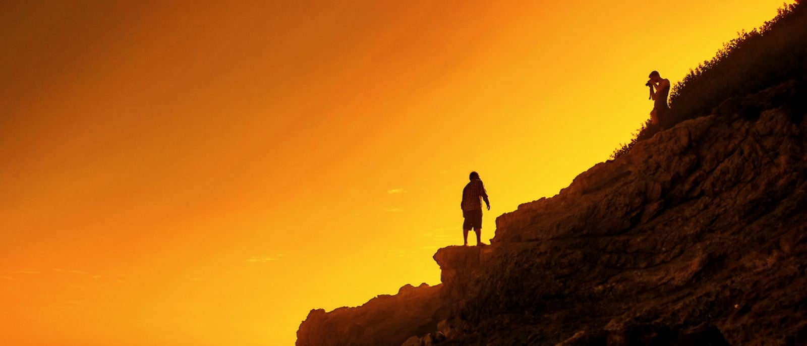 Capturing the sunset at Leo Carrillo State Beach   Photo: Joseph Voves, Flickr