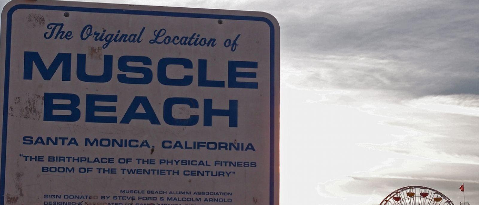 Muscle Beach, Photo: maruebe, Flickr
