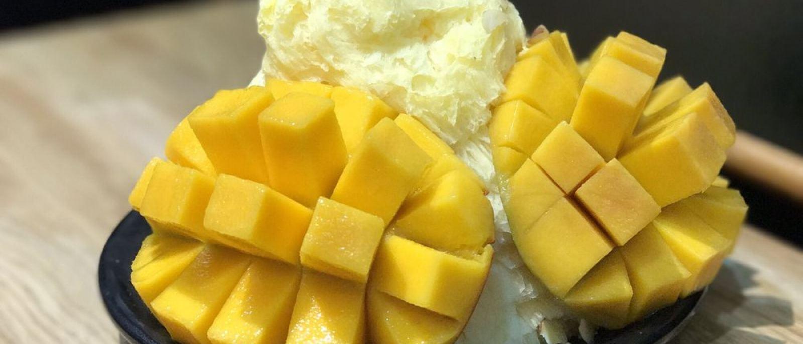 Mango ice flakes at Oakobing | Photo: Kong O, Yelp