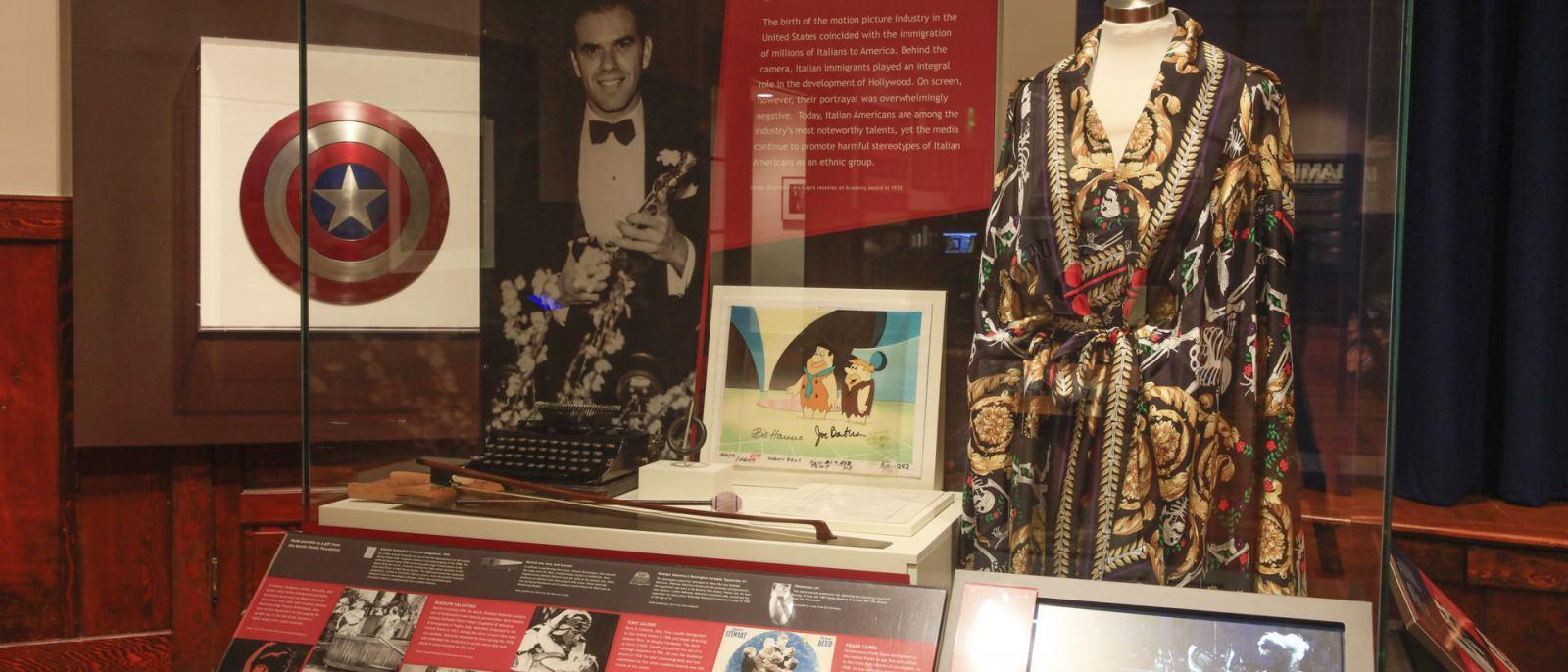 Exhibit at the Italian American Museum on Olvera Street