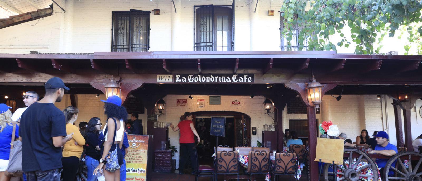 La Golondrina Cafe Olvera Street