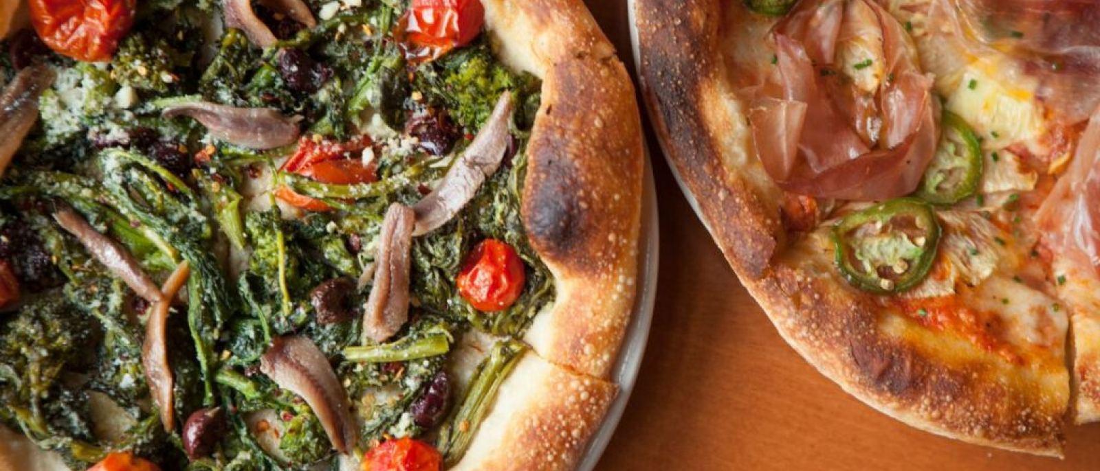 Fennel sausage, panna, mozzarella, red onions, scallions | Photo courtesy of Pizzeria Mozza, Facebook