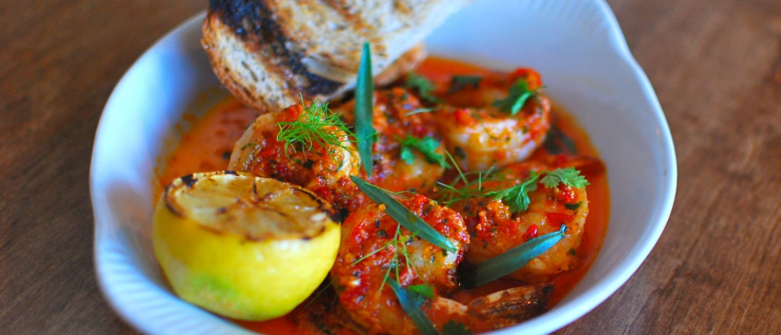 Rustic Canyon California Prawns Scampi