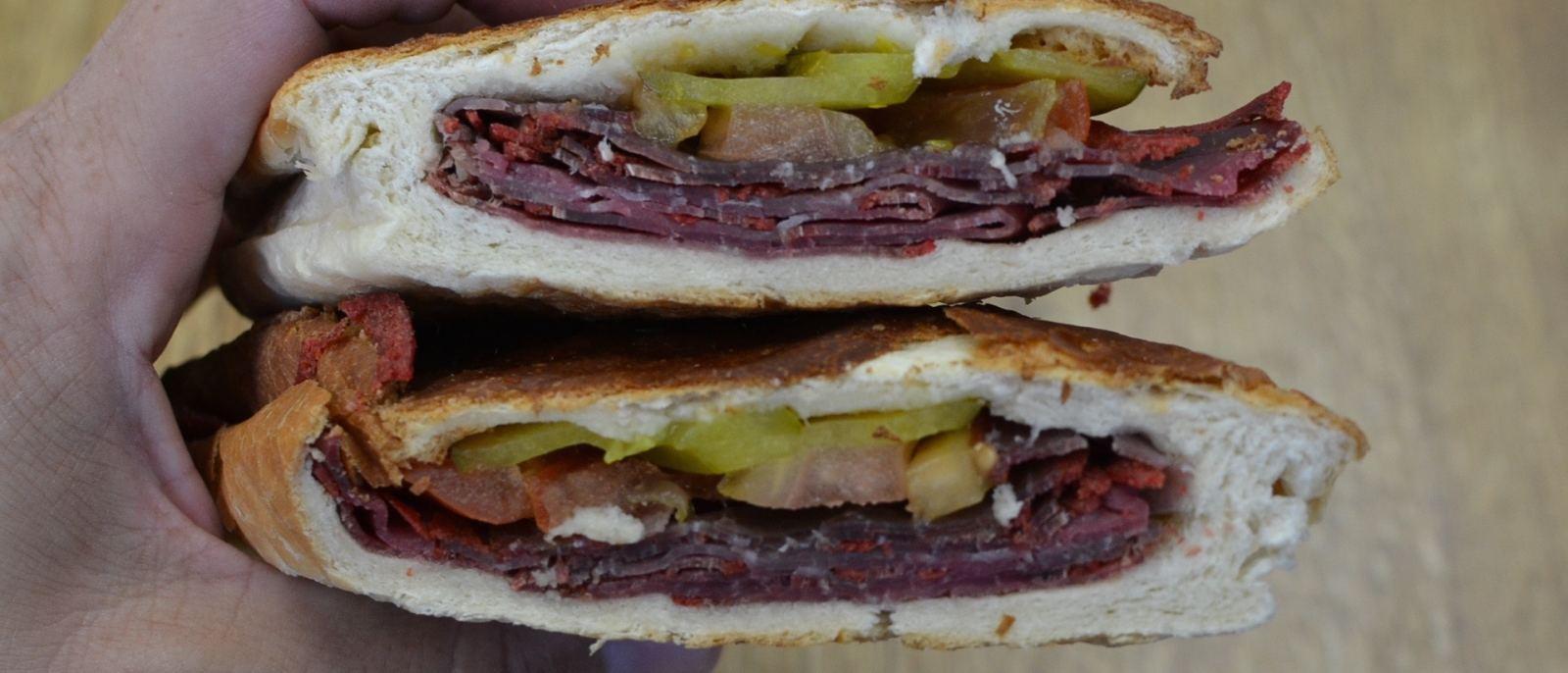 Sahag Basturma Sandwich