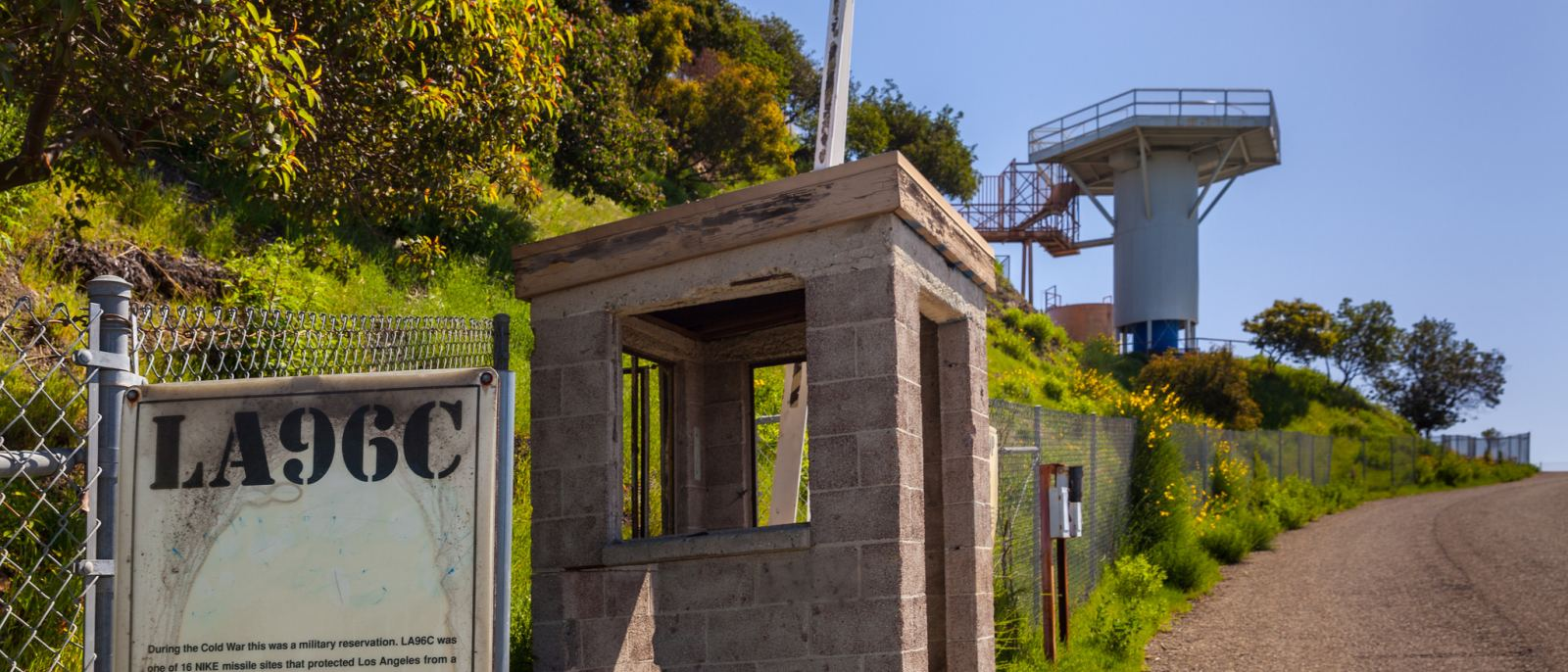 Nike Missile Site at San Vicente Mountain Park