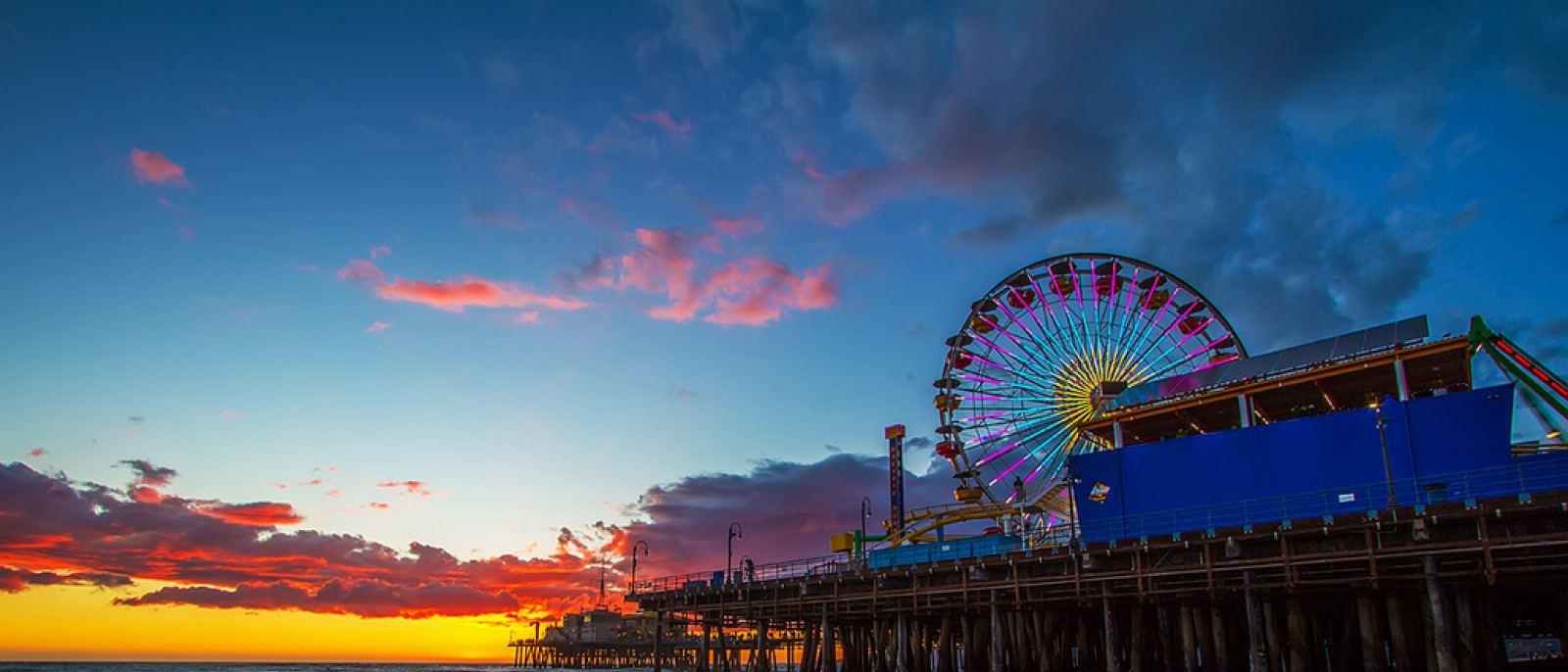 Santa Monica Pier | Photo courtesy of Shabdro Photo, Flickr