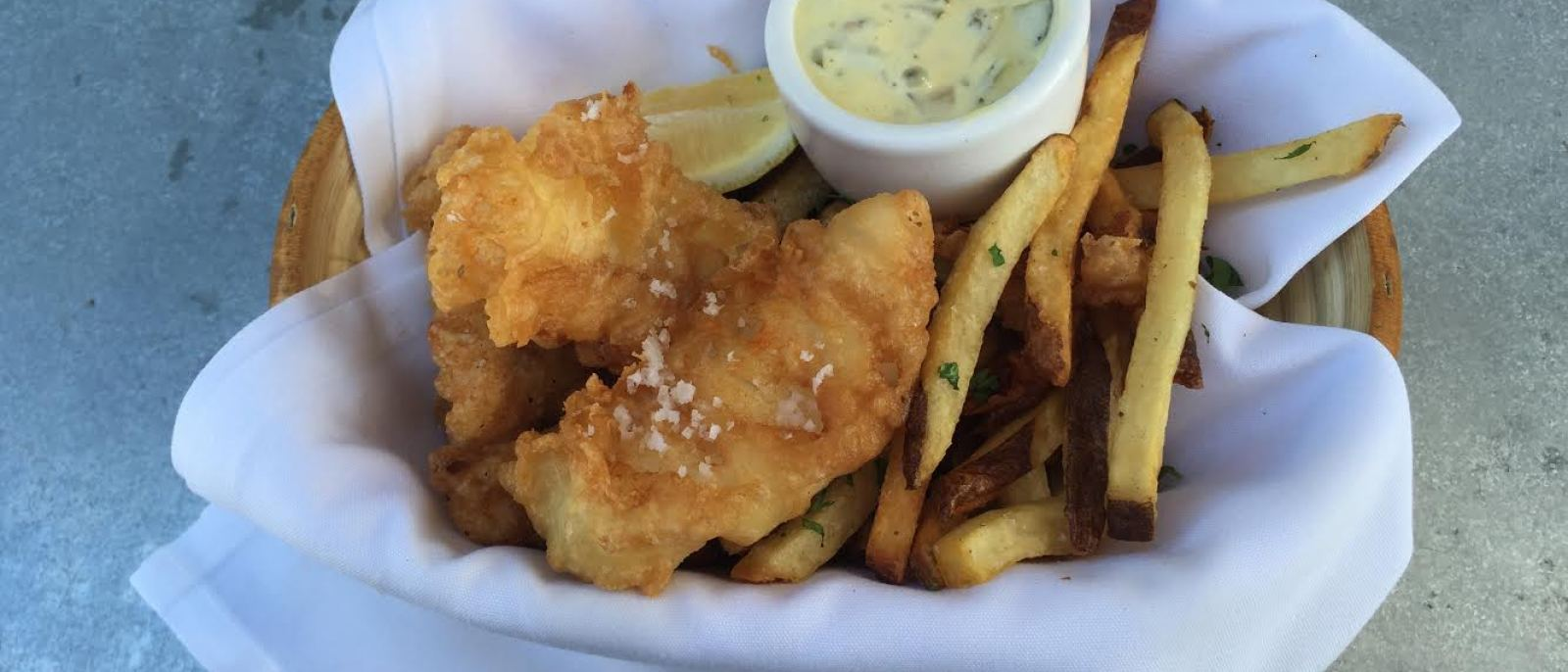 Jules' Fish and Chips at Tavern